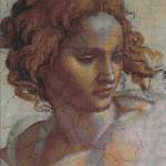 """Mozaika (projekt), Michał Anioł - """"Ignudo 1"""", 110 x 160cm"""
