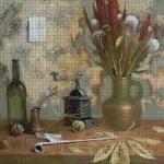 "Mozaika (projekt) ""Martwa natura2"", 150 x 130cm"