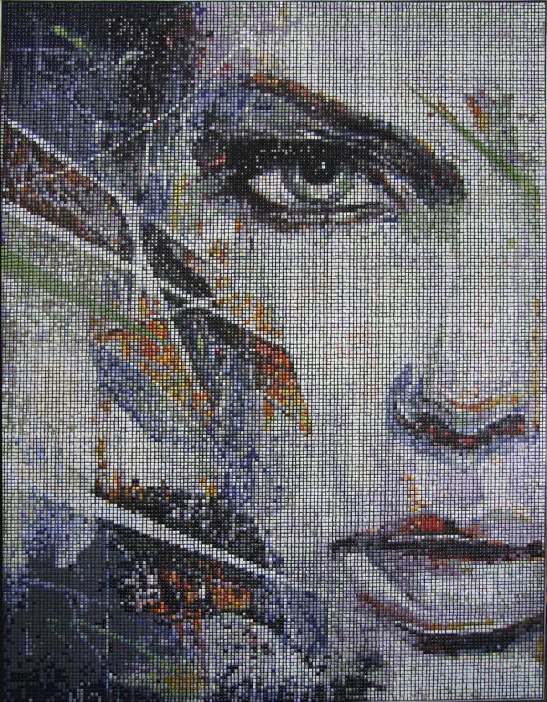 """Mozaika """"Intuicja"""", 110 x 140 x 3cm, waga 18kg"""