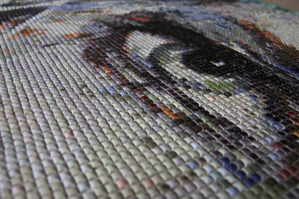 """Mozaika """"Intuicja"""", 110 x 140 x 3cm, waga 18kg, zoom"""