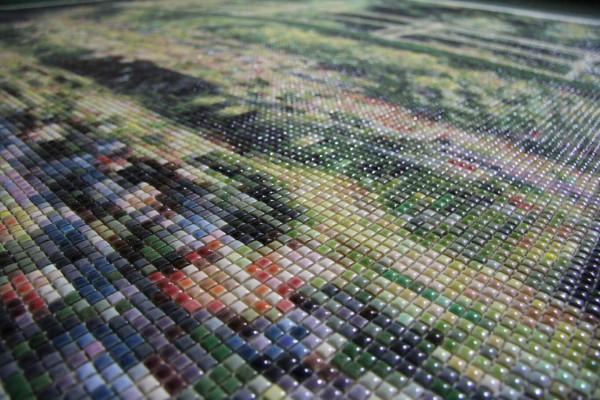 """Mozaika """"Mostek japoński"""", 150 x 150 x 3cm, zoom"""