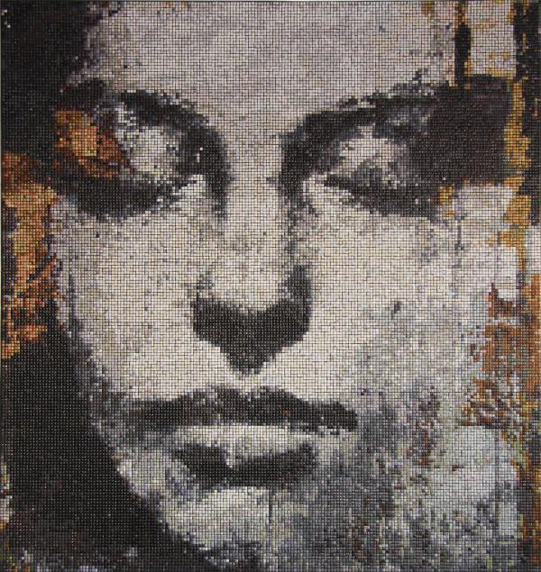 "Mozaika ""Muza"", 120x128x3cm"