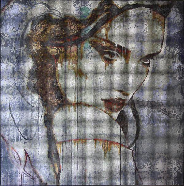 """Mozaika """"Nostalgia"""", 134 x 134 x 3cm, waga 20kg"""