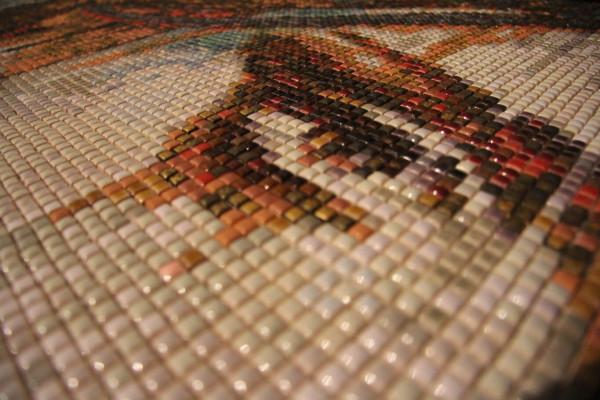"Mozaika ""Nostalgia"", 134 x 134 x 3cm, waga 20kg, zoom"
