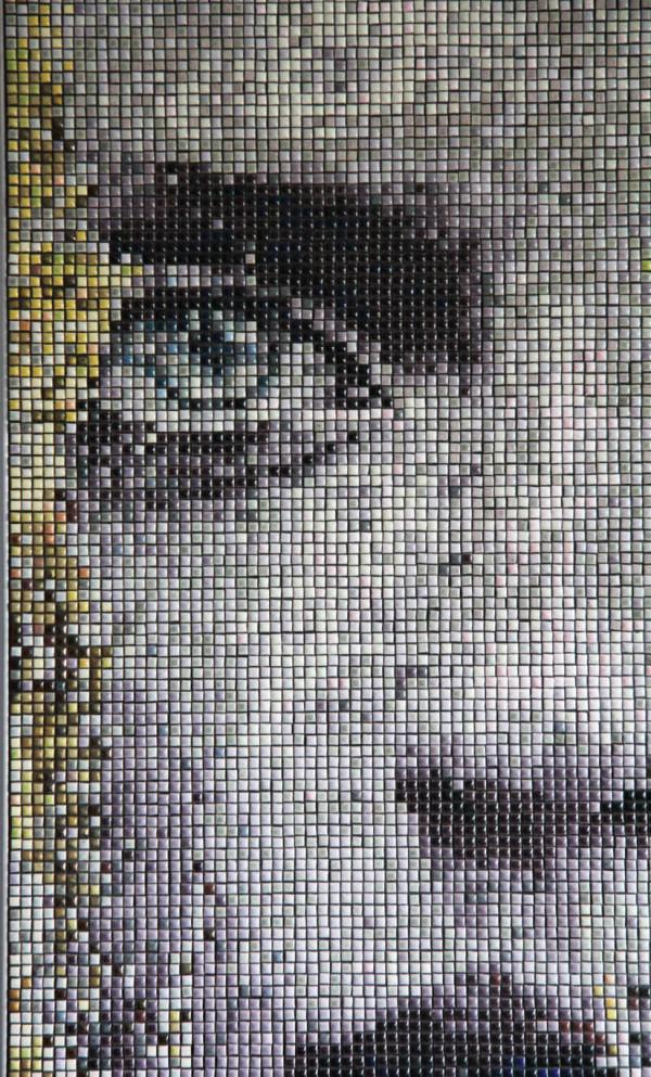 """Mozaika """"Oczekiwanie"""", 43x140cm zoom"""