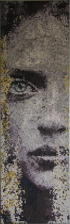"""Mozaika """"Oczekiwanie"""", 43x140cm"""