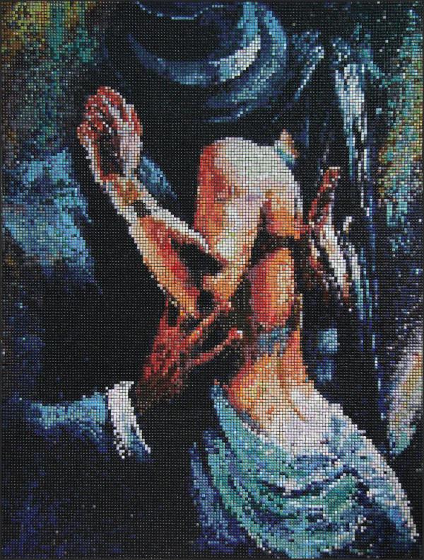 "Mozaika ""Passional"", 100 x 134 x 3cm"