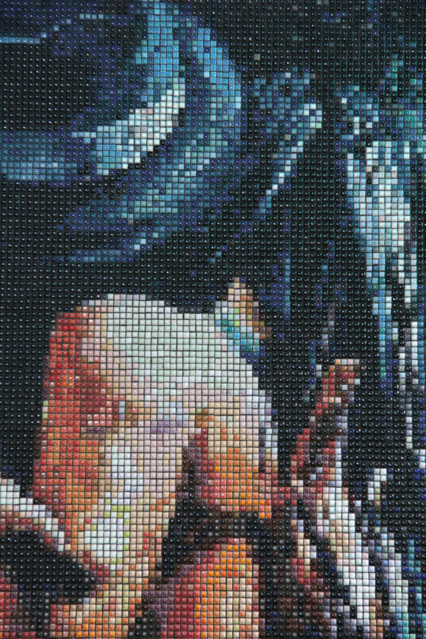 "Mozaika ""Passional"", 100 x 134 x 3cm, zoom"